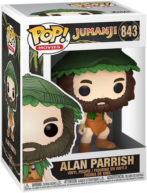 Jumanji Figura Vinilo Alan Parrish - 843
