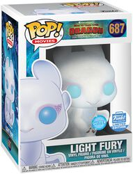 Figura Vinilo 3 - Light Fury (Glitter) (Funko Shop Europe) 687