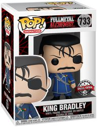 Figura Vinilo King Bradley (posible Chase) 733