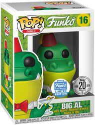 Figura Vinilo Fantastik Plastik - Big Al (Funko Shop Europe) 16