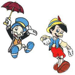 Pinocchio Pinocchio & Jiminy Cricket