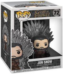 Figura Vinilo Jon Snow Iron Throne (POP Deluxe) 72