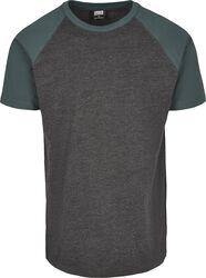 Camiseta Raglan Contrast