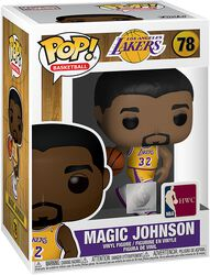 LA Lakers - Figura Vinilo Magic Johnson 78