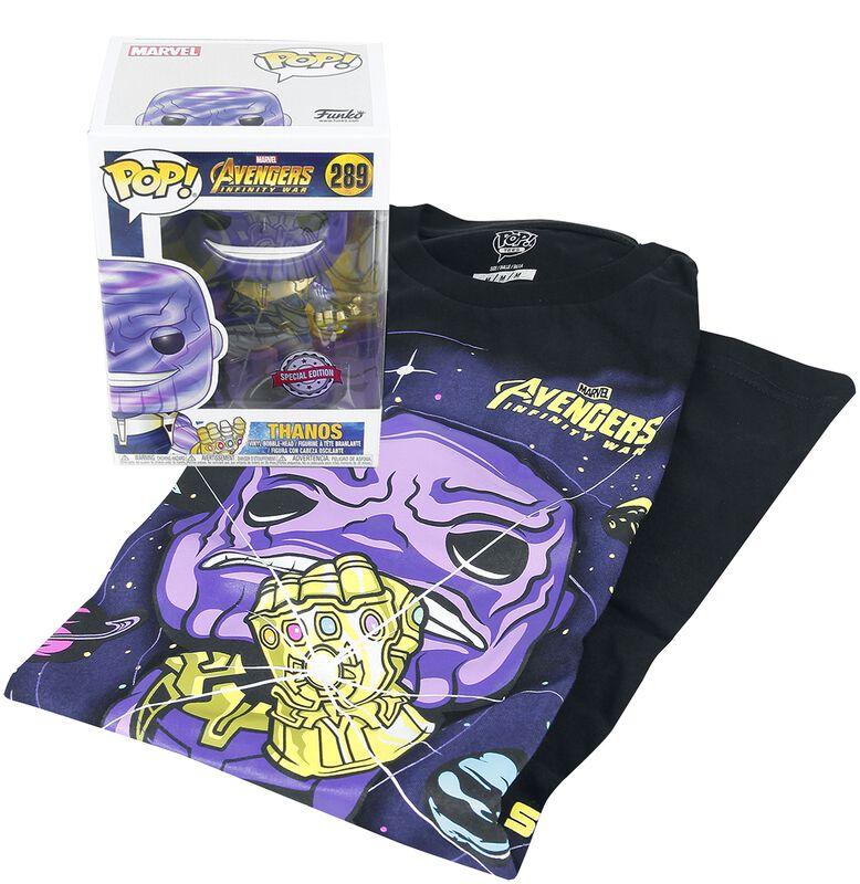 Infinity War - Thanos camiseta + Funko - Fan Package
