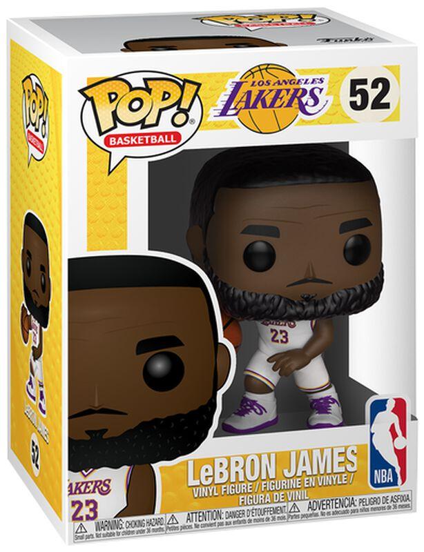 Figura Vinilo Los Angeles Lakers - LeBron James 52