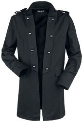 Short Coat with Turned Lapel