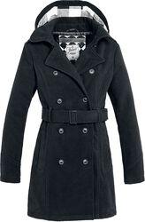 Abrigo largo de chica