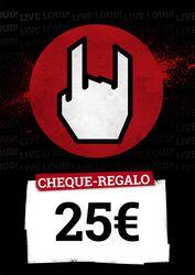 Cheque Regalo 25,00 EUR