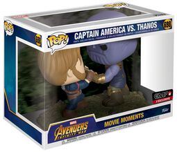 Figura Vinilo Infinity War - Captain America vs Thanos (Movie Moments) 698