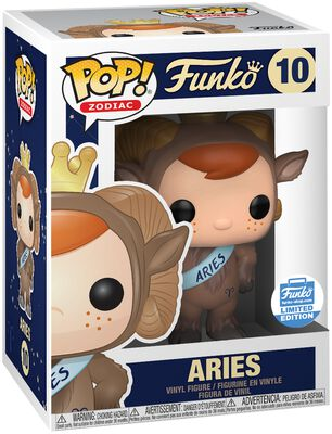 Figura Vinilo Zodiac - Aries (Funko Shop Europe) 10