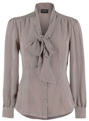 Madeline 40's Style Houndstooth