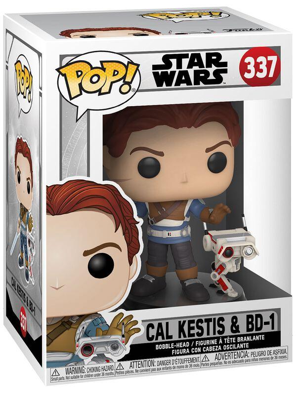 Figura Vinilo Jedi: Fallen Order - Cal Kestis and BD-1 337