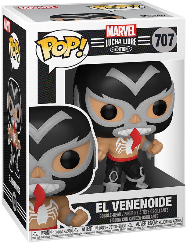 Figura vinilo El Venenoide - Marvel Luchadores - 707