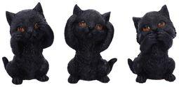 Three Wise Kitties