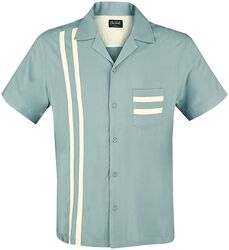 Lucky Stripe Bowling Shirt