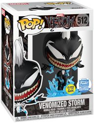 Figura Vinilo Venomized Storm (GITD) (Funko Shop Europe) 512