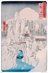 Mount Haruna In Snow