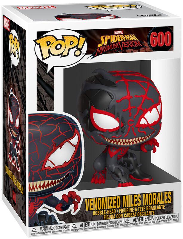 Figura Vinilo Maximum Venom - Venomized Miles Morales 600