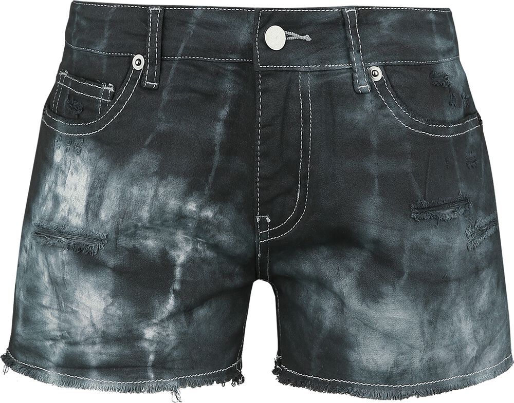 Destroyed Vintage Denim Hot Pant