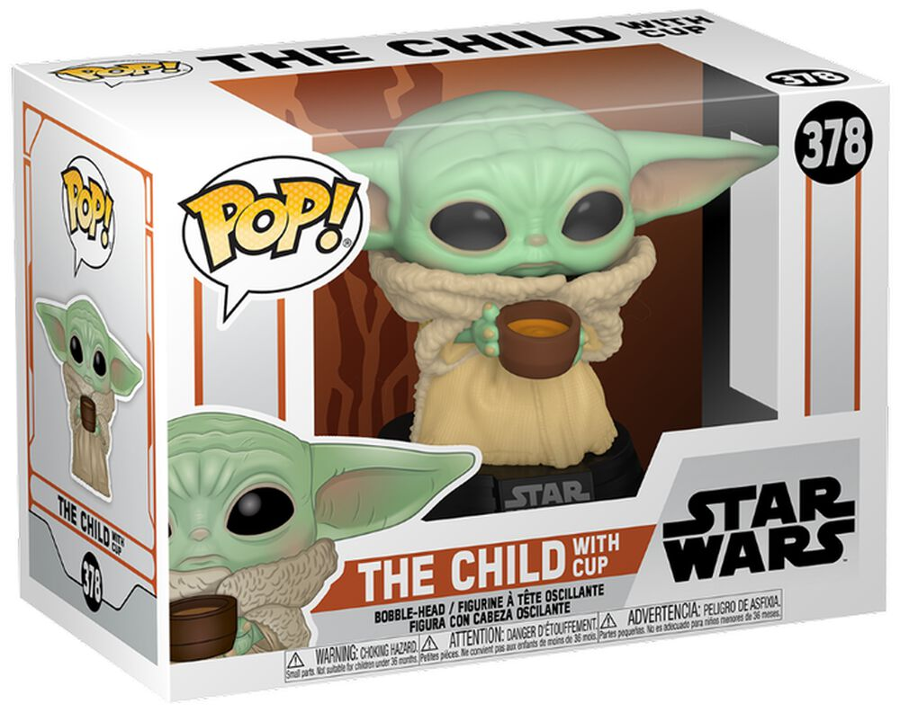 Figura vinilo The Mandalorian - The Child with Cup 378