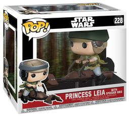 Figura Vinilo Princess Leia on a Speeder 228 (posible Chase )
