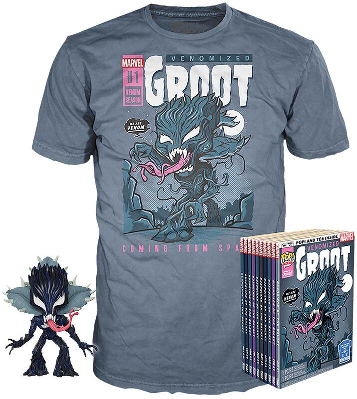 Venomized Groot - POP! & Camiseta