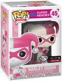 Figura Vinilo Harley Quinn (brillantina rosa) 45