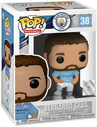 Football Figura Vinilo Manchester City - Bernardo Silva 38