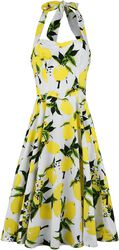Vestido Lemon Print Swing