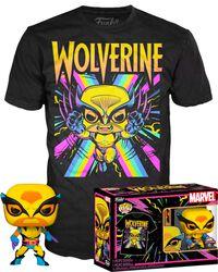 Black Light - Wolverine POP! & Camiseta