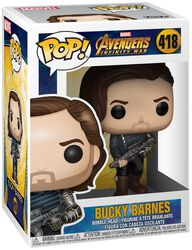 Figura Vinilo Infinity War - Bucky Barnes 418