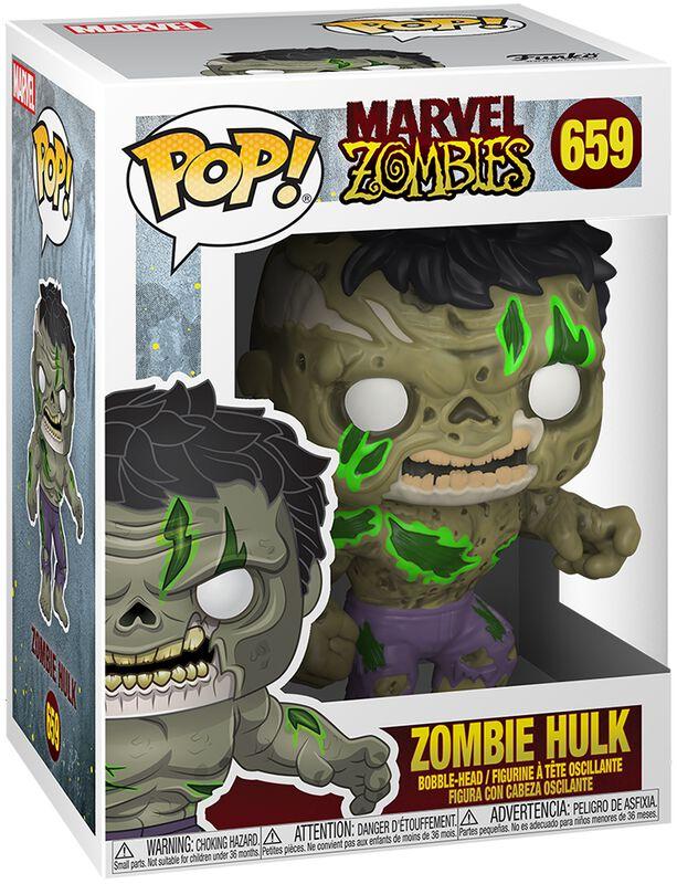Figura vinilo Zombies - Zombie Hulk 659