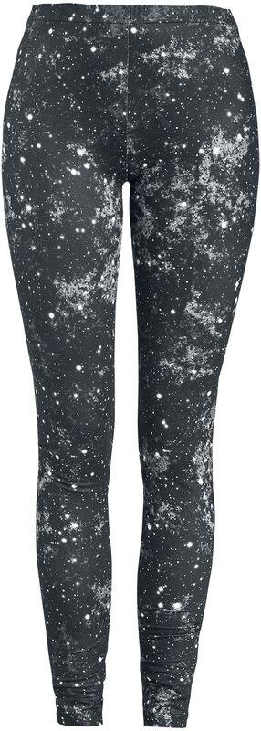 Black Leggings Galaxy