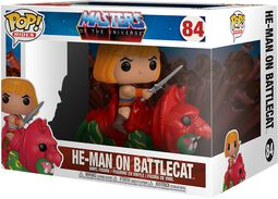 He-Man On Battlecat POP Rides Vinyl Figure 84