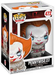 Figura Vinilo Pennywise (with Boat) (posible Chase) 472