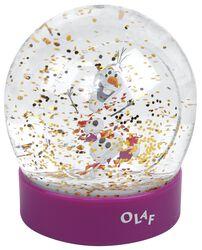 Globo de nieve Olaf