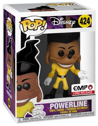 Figura Vinilo The Goofy Movie - Powerline 424