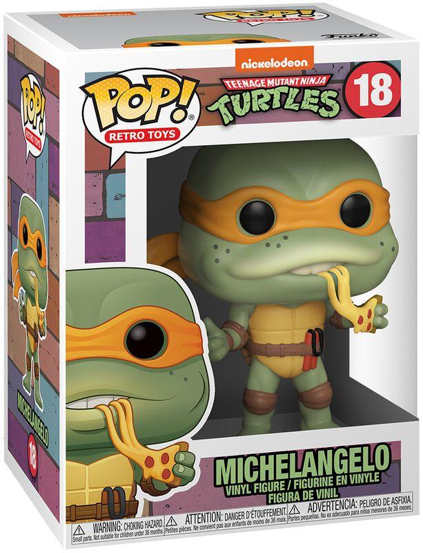 Figura vinilo Michelangelo 18