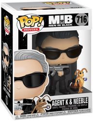 Men in Black Figura Vinilo Agent K and Neeble 716