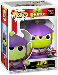 Figura vinilo Alien As Zurg (Metallic) 753