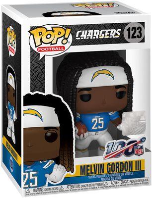 Figura Vinilo Los Angeles Chargers - Melvin Gordon III 123