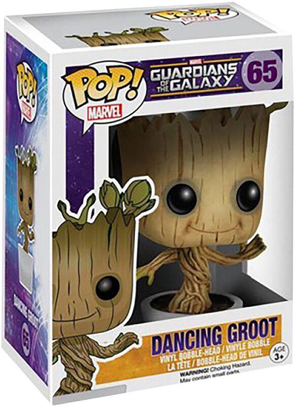 Figura vinilo Dancing Groot 65