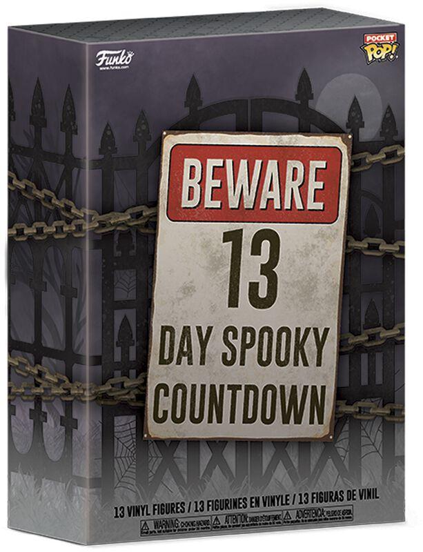 Calendario Beware 13 Day Spooky Halloween Countdown