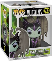 Figura vinilo Maleficent on Throne (Pop! Deluxe) 784