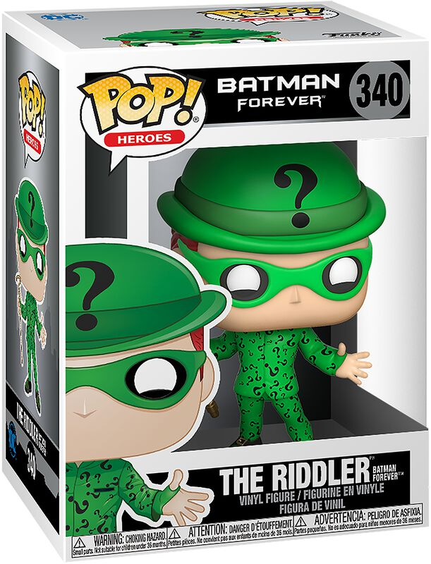 Figura Vinilo Batman Forever - The Riddler 340
