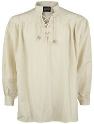 Camisa Medieval de Cuello Alto