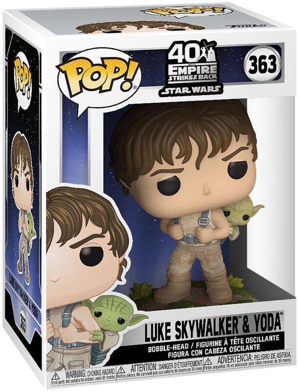 Figura Vinilo Empire Strikes Back 40th Anniversary -  Luke Skywalker & Yoda 363