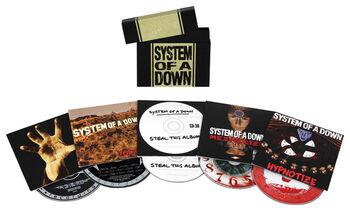 S.O.A.D. album bundle