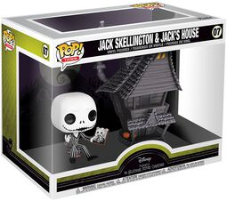 Nightmare Before Christmas Figura Vinilo Jack Skellington and Jacks House - 07